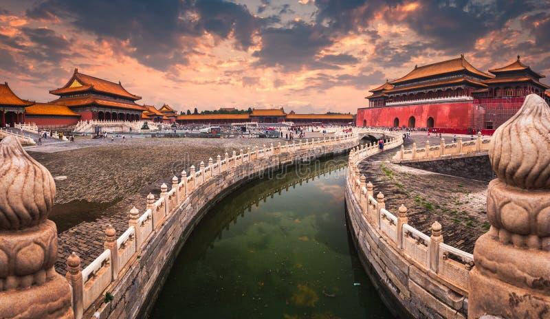 Η απαγορευμένη πόλη του Πεκίνου στοκ φωτογραφία με δικαίωμα ελεύθερης χρήσης