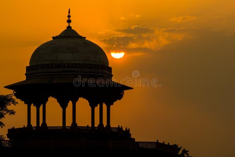 Η απαγόρευση KAU μουσουλμανικών τεμενών κοντά σε Taj Mahal στοκ φωτογραφίες με δικαίωμα ελεύθερης χρήσης