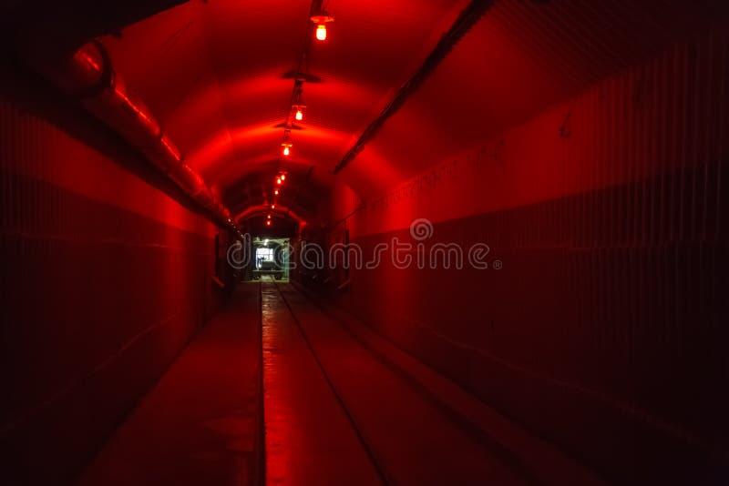 Η αποθήκη από το Ψυχρό Πόλεμο, αντιτίθεται μια υπόγεια υποβρύχια βάση στοκ φωτογραφία