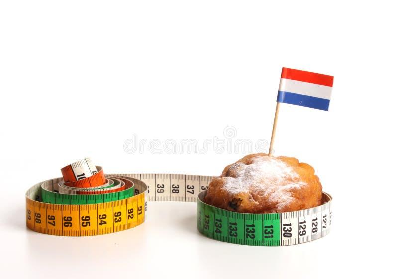 η αποκαλούμενη donuts ολλαν&delta στοκ εικόνα με δικαίωμα ελεύθερης χρήσης