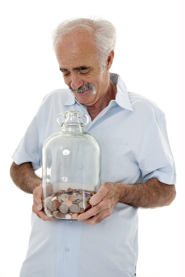 η αποταμίευση συνταξιού&chi στοκ φωτογραφίες με δικαίωμα ελεύθερης χρήσης
