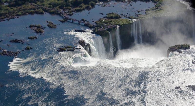 η Αργεντινή Βραζιλία κάνει foz το iguassu στοκ φωτογραφία με δικαίωμα ελεύθερης χρήσης