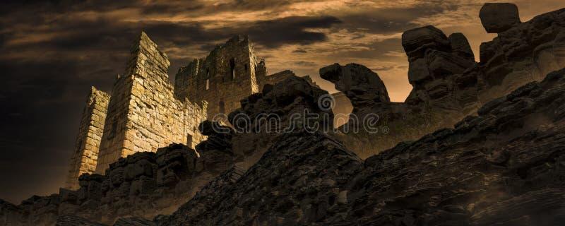 Η αρχαία πόλη της μεταλαμπής στοκ εικόνα με δικαίωμα ελεύθερης χρήσης