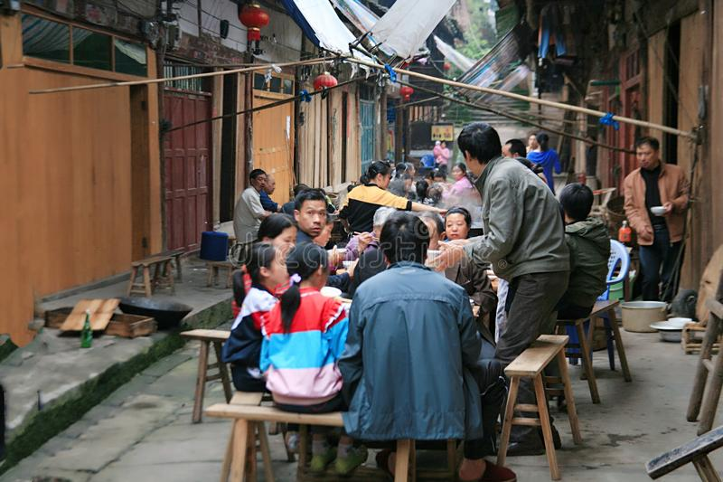 Η αρχαία πόλη Datong, Chishui στοκ εικόνες