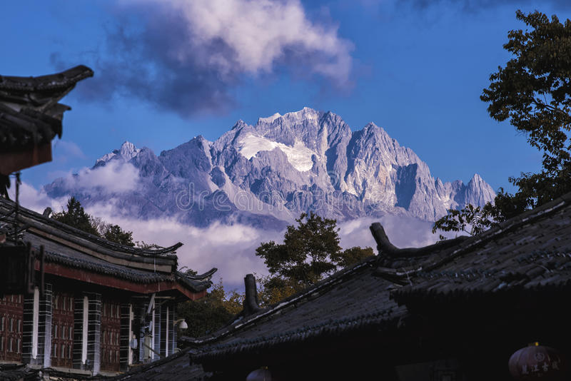 Η αρχαία πόλη Lijiang στοκ εικόνες με δικαίωμα ελεύθερης χρήσης