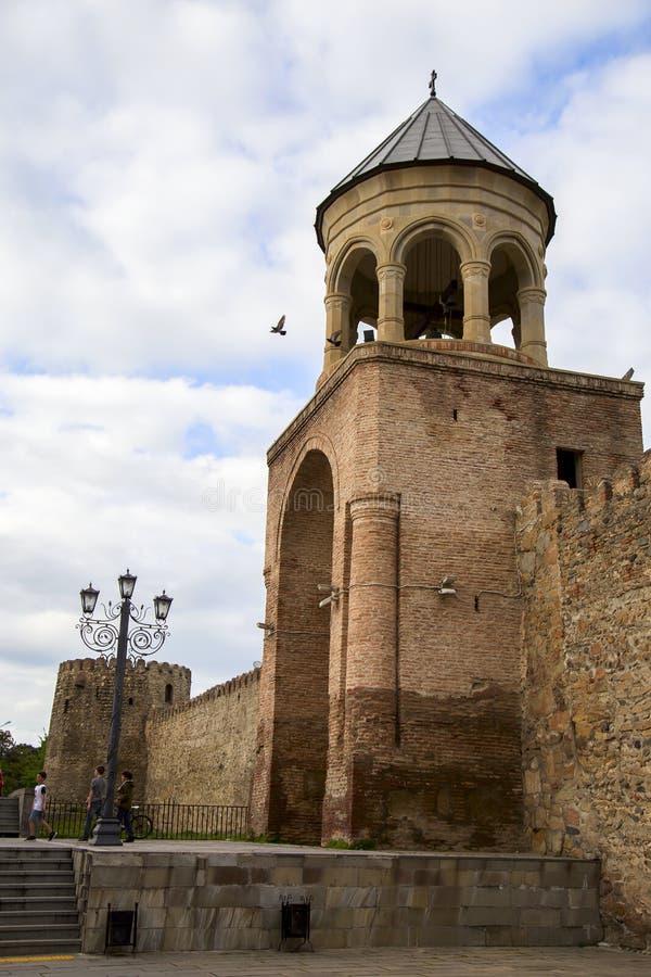 Η αρχαία της Γεωργίας Ορθόδοξη Εκκλησία σε Mtskheta στοκ φωτογραφίες