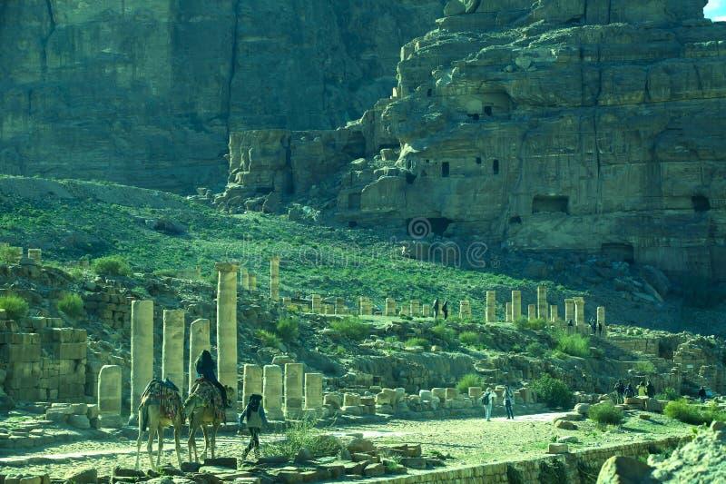 Η αρχαία Petra στοκ φωτογραφία με δικαίωμα ελεύθερης χρήσης