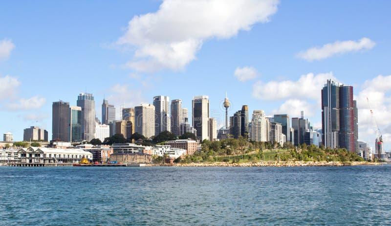 Η Αυστραλία, Σίδνεϊ, ελλιμενίζει αγάπη μου, ορίζοντας, Νότια Νέα Ουαλία στοκ εικόνες