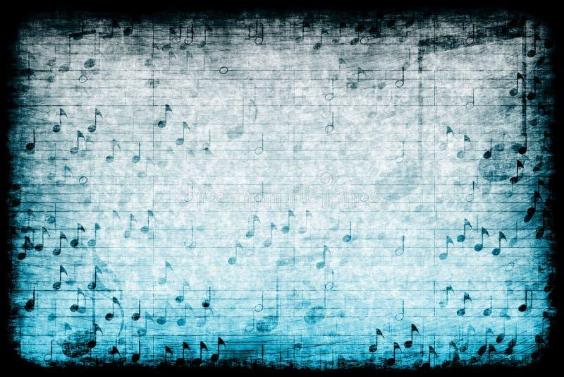η αφηρημένη μουσική ανασκόπησης grunge απεικόνιση αποθεμάτων