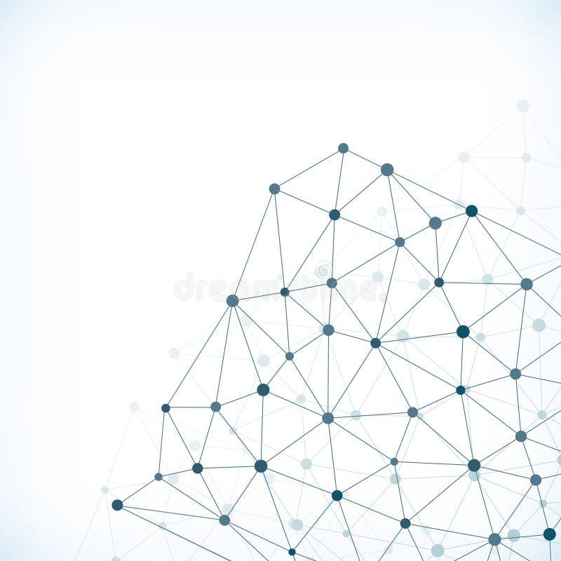 Η αφηρημένη σύνδεση δείχνει το υπόβαθρο απεικόνιση αποθεμάτων