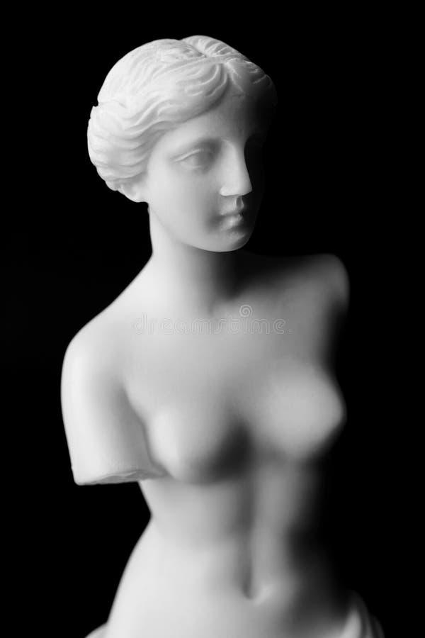 Η Αφροδίτη de Milo είναι ένα μαρμάρινο άγαλμα της εποχής Hellenistic. στοκ εικόνα με δικαίωμα ελεύθερης χρήσης