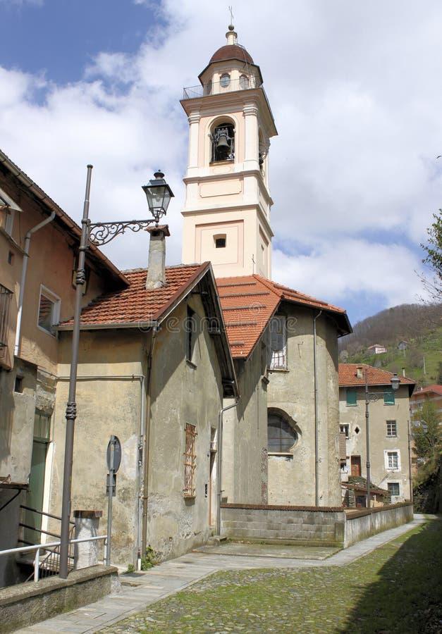 Η αλέα της εκκλησίας στοκ εικόνα