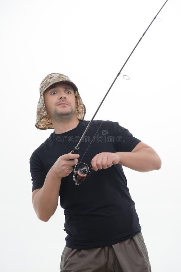 Η αλιεία είναι πάντα ευχαρίστηση στοκ φωτογραφίες με δικαίωμα ελεύθερης χρήσης