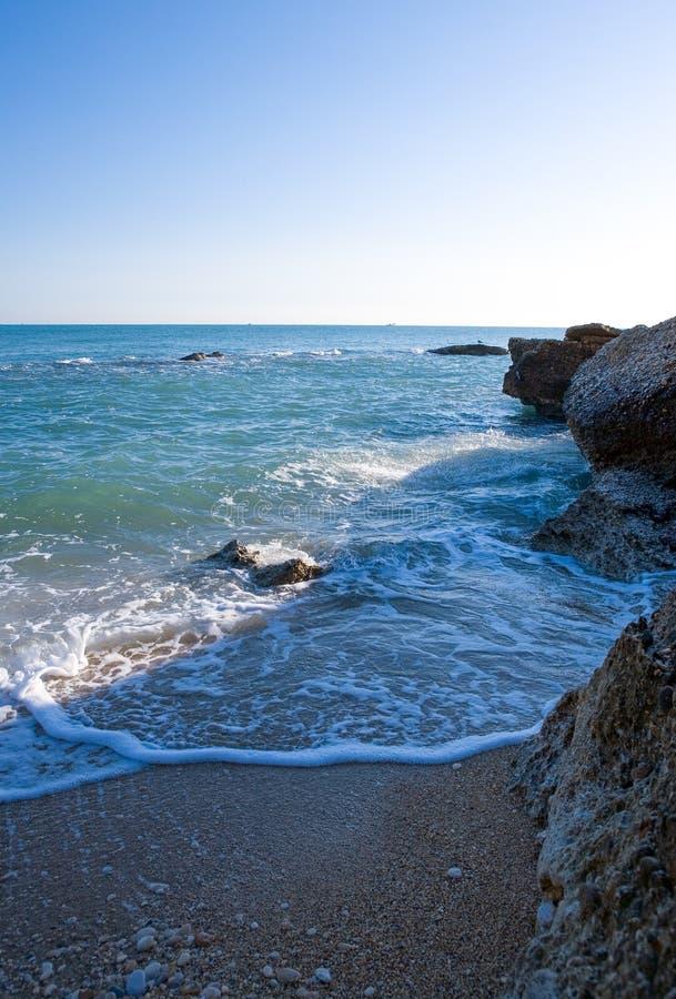 Η αδριατική ακτή στοκ εικόνες