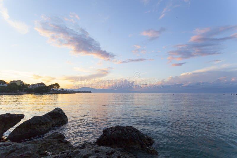 Η Αδριατική βλέπει στοκ φωτογραφίες