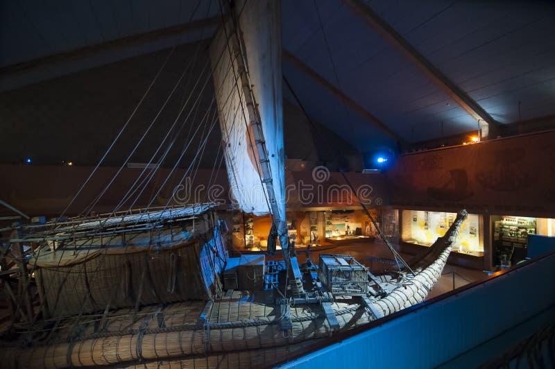 Η βάρκα καλάμων RA ΙΙ, Όσλο στοκ εικόνες