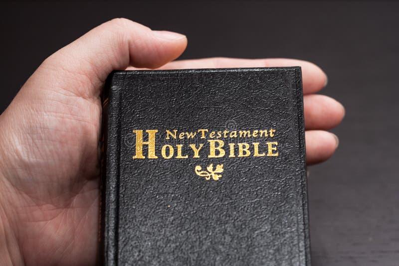 Η Βίβλος που ανοίγουν στοκ εικόνες