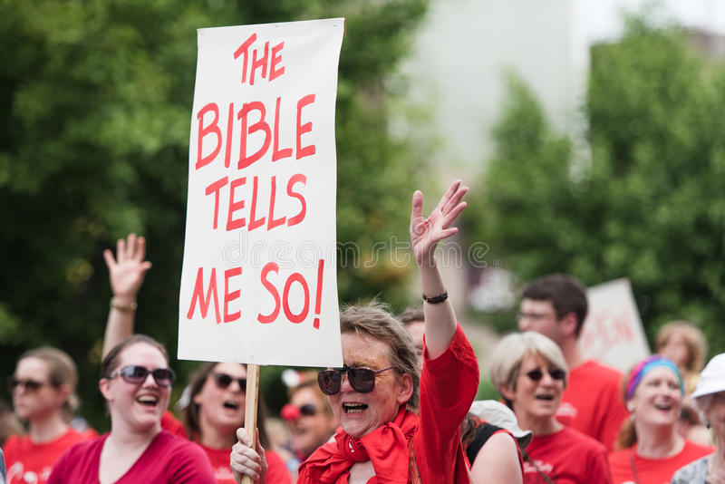 Η Βίβλος με λέει έτσι στοκ φωτογραφίες