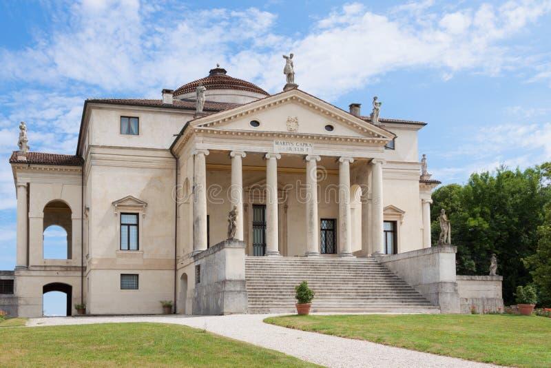 Η βίλα Rotonda από τη Andrea Palladio στοκ εικόνες