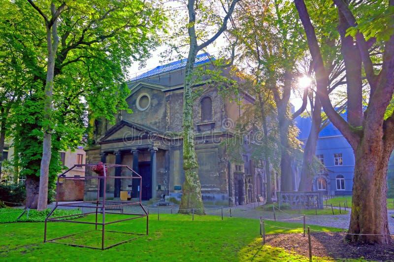 Η βασιλική ακαδημία των Καλών Τεχνών Αμβέρσα στο Βέλγιο στοκ εικόνα