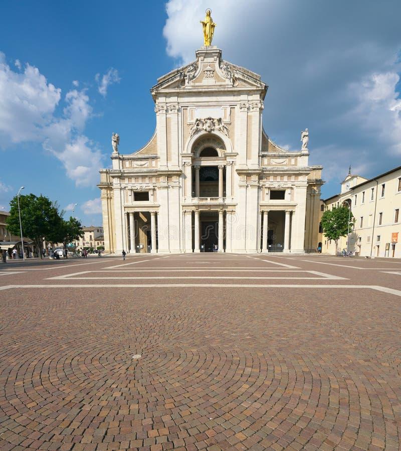 Η βασιλική του degli Angeli της Σάντα Μαρία στοκ εικόνα με δικαίωμα ελεύθερης χρήσης