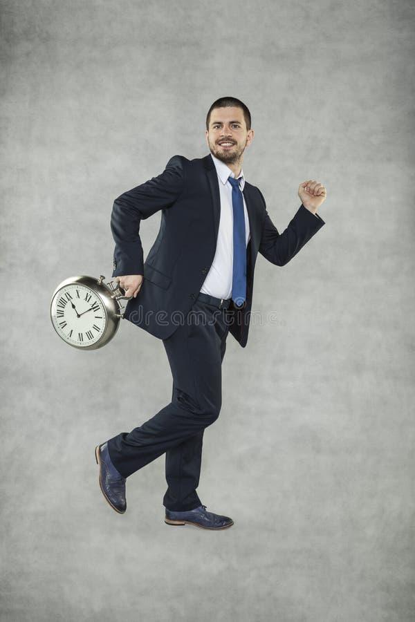 Η βιασύνη, εργασία δεν θα περιμένει σας στοκ φωτογραφία