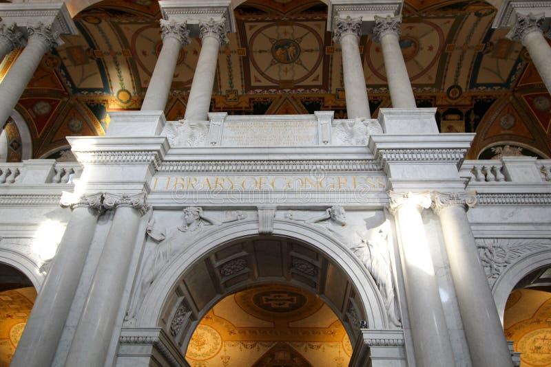 Η βιβλιοθήκη του Κογκρέσου στοκ εικόνα με δικαίωμα ελεύθερης χρήσης