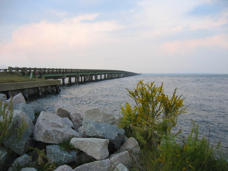 Η Βιρτζίνια τολμά αναμνηστική γέφυρα στοκ εικόνες
