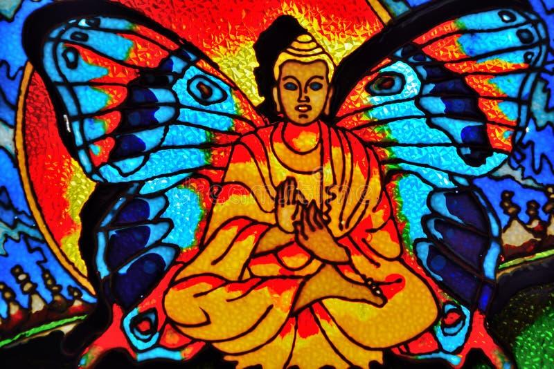 Η Βούδας-πεταλούδα ελεύθερη απεικόνιση δικαιώματος