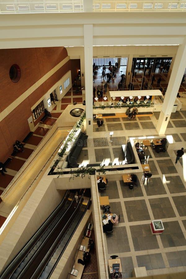 Η βρετανική βιβλιοθήκη στοκ φωτογραφία