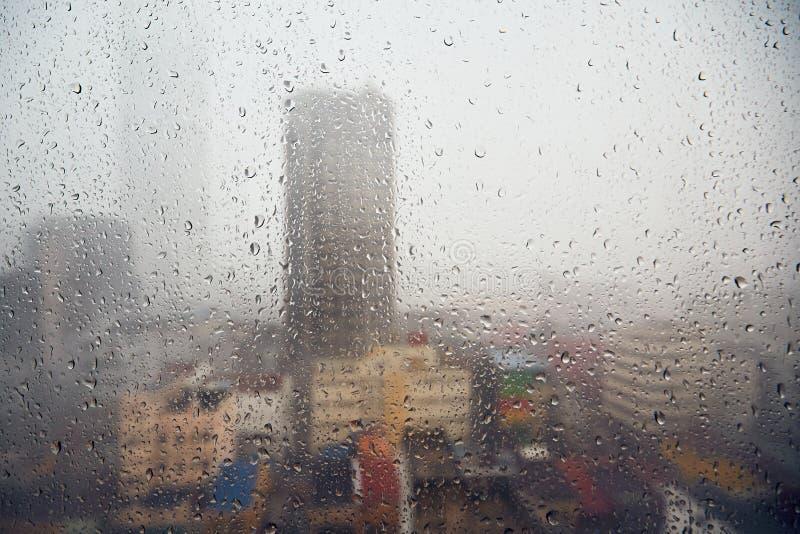 η βροχή Σύδνεϋ φωτογραφιών πόλεων της Αυστραλίας nsw πήρε στοκ φωτογραφία με δικαίωμα ελεύθερης χρήσης