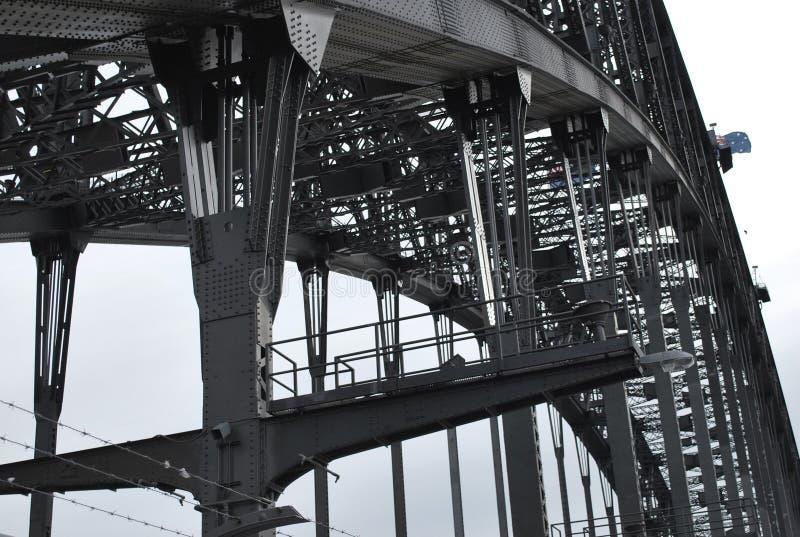 Η γέφυρα αναρριχείται, λιμενική γέφυρα του Σίδνεϊ, Αυστραλία στοκ φωτογραφία με δικαίωμα ελεύθερης χρήσης