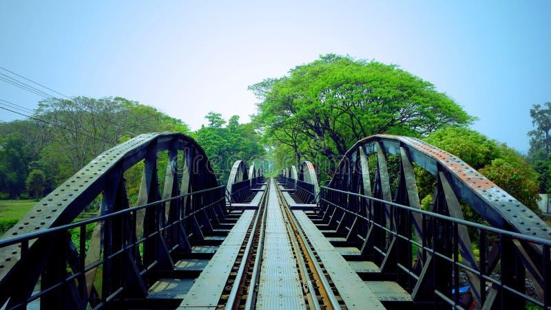 Η γέφυρα στον ποταμό Kwai στοκ εικόνες
