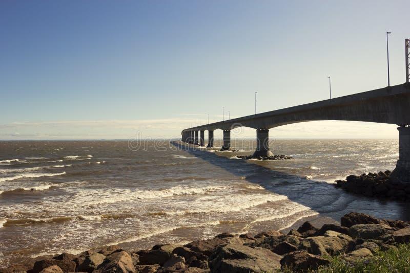 Η γέφυρα συνομοσπονδίας στον Καναδά στοκ φωτογραφίες