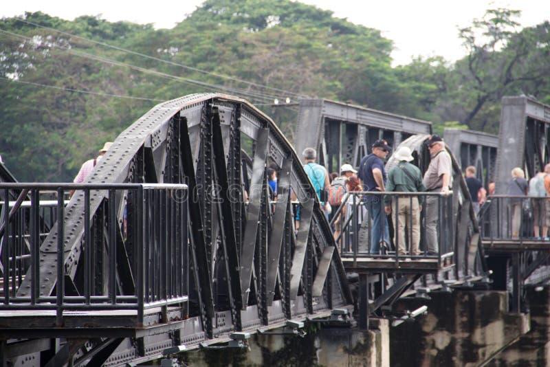 Η γέφυρα του kwai ποταμών στοκ φωτογραφίες