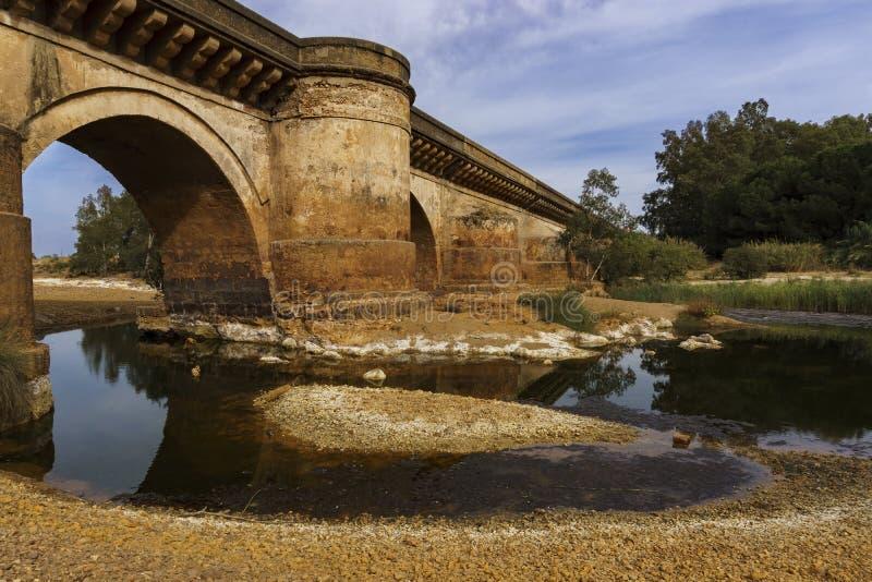 Η γέφυρα χαλά στοκ εικόνα