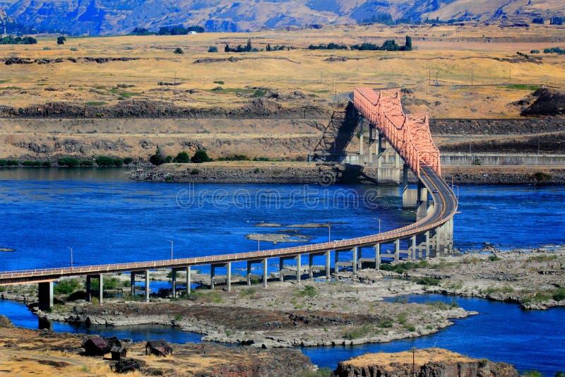 Η γέφυρα Dalles στοκ εικόνα