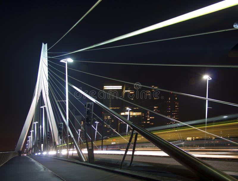 Η γέφυρα Erasmus, Ρότερνταμ στοκ φωτογραφία με δικαίωμα ελεύθερης χρήσης