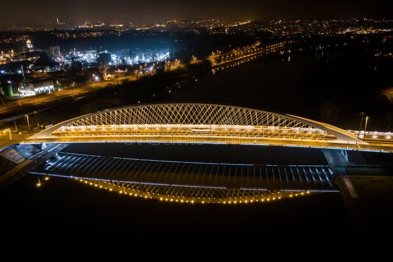 Η γέφυρα Troja στοκ εικόνα με δικαίωμα ελεύθερης χρήσης