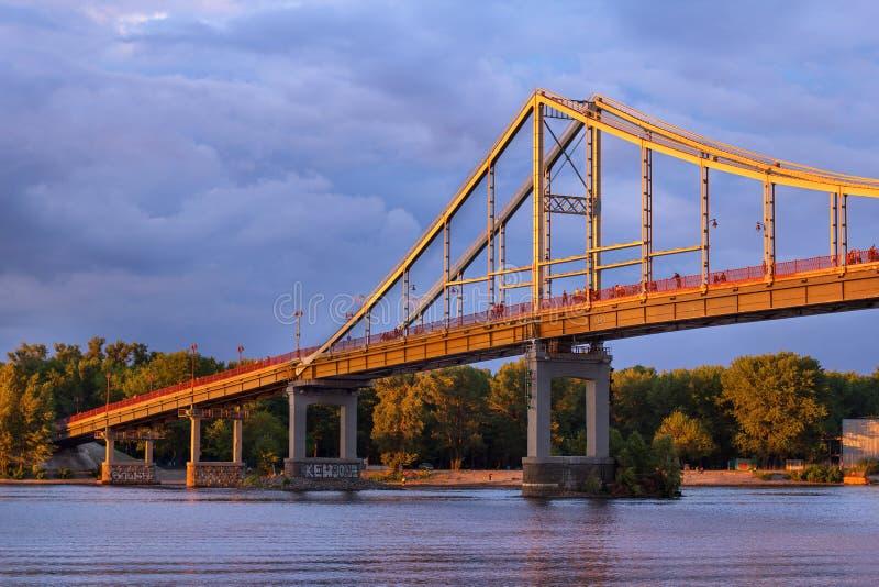 Η γέφυρα Trukhaniv στοκ φωτογραφία με δικαίωμα ελεύθερης χρήσης