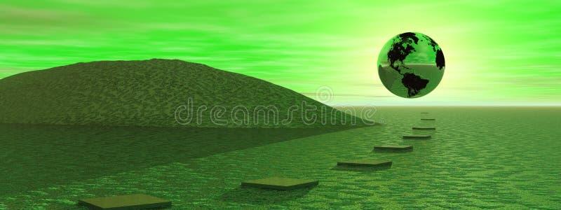 η γη που πηγαίνει σώζει απεικόνιση αποθεμάτων