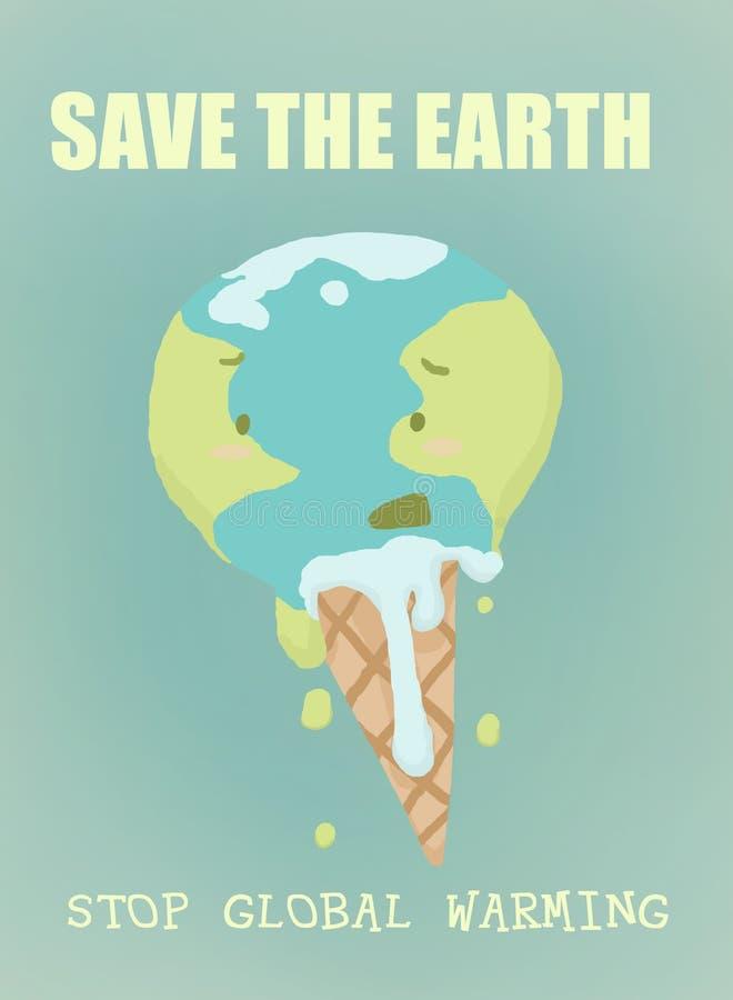 η γη σώζει απεικόνιση αποθεμάτων