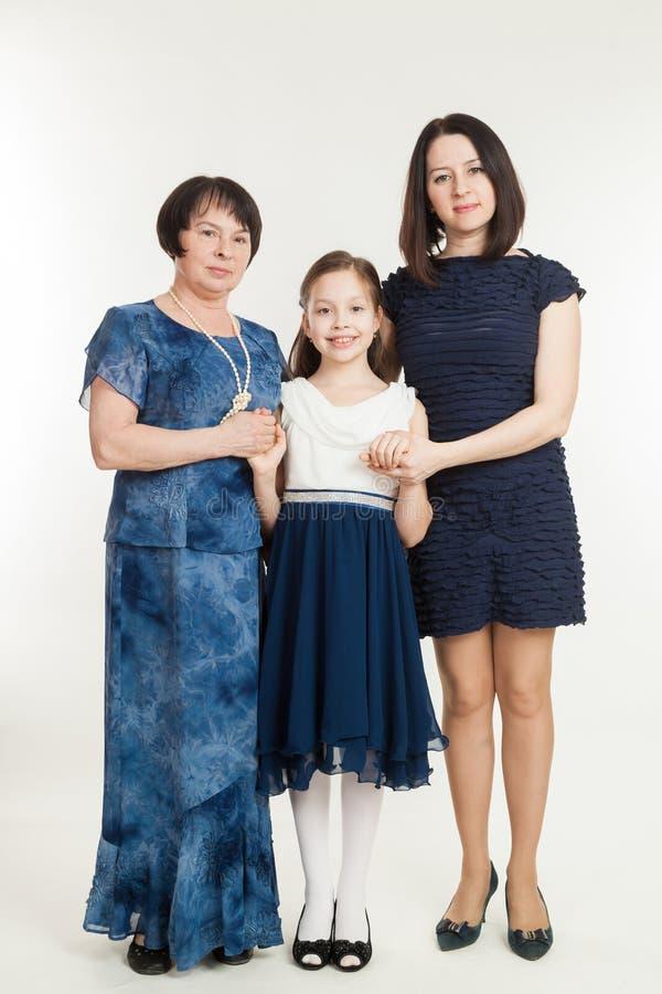 Η γιαγιά, μητέρα και η εγγονή στοκ φωτογραφίες με δικαίωμα ελεύθερης χρήσης