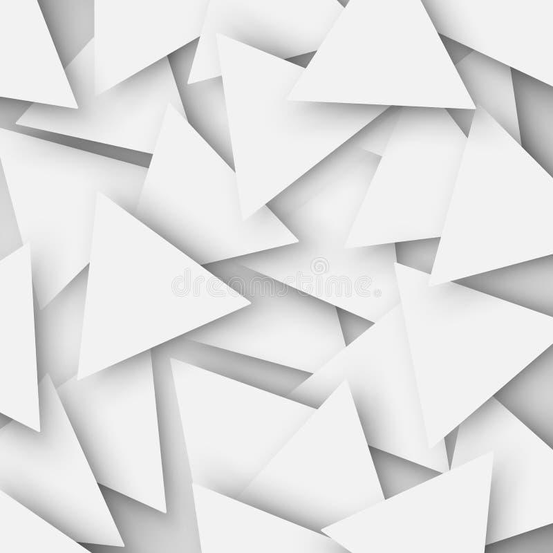 Η γκρίζα χρωματισμένη αφηρημένη polygonal γεωμετρική σύσταση, τρίγωνο απεικόνιση αποθεμάτων