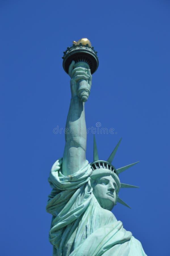 Η Δεσποινίς Liberty στοκ εικόνες