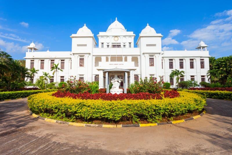 Η δημόσια βιβλιοθήκη Jaffna στοκ εικόνες