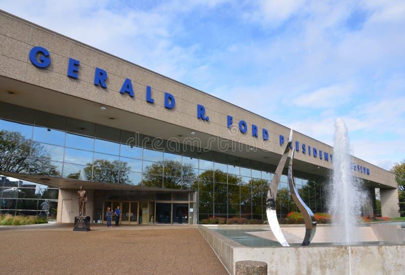 38$η διάβαση Gerald γ δ η κυρία museum κερί Προέδρου r tussauds ΗΠΑ Ουάσιγκτον Προεδρικό μουσείο της Ford στο Grand Rapids στοκ φωτογραφία με δικαίωμα ελεύθερης χρήσης