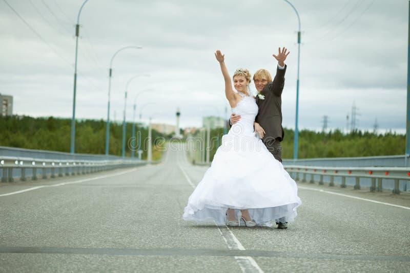 η διασκέδαση παντρεύει τη& στοκ εικόνες