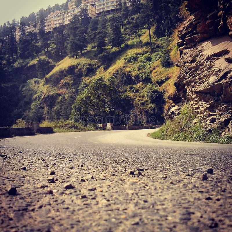 Η εθνική οδός στοκ εικόνα