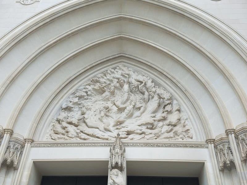 Η εθνική πύλη καθεδρικών ναών στοκ φωτογραφία με δικαίωμα ελεύθερης χρήσης